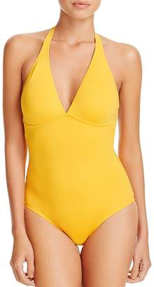 Vilebrequin Solid Water One Piece Swimsuit