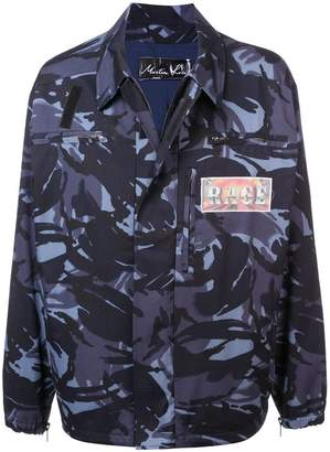 Martine Rose Rage camouflage print jacket