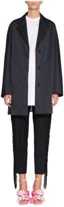 Marco De Vincenzo Pep It Up Faille Coat
