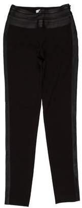 Guy Laroche Mid-Rise Skinny Pants