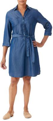 Olsen Glam Safari Denim Shirtdress
