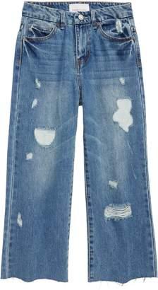 Habitual High Rise Wide Leg Crop Jeans