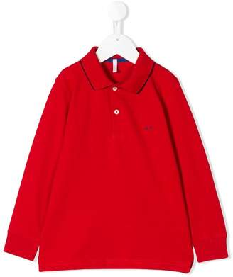 Sun 68 long sleeve polo shirt