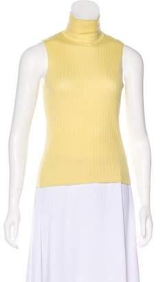 Hermes Cashmere Crop Top