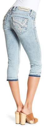 Rock Revival Studded Capri Jeans