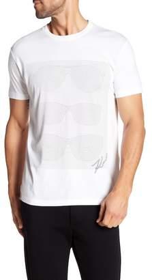 Karl Lagerfeld Short Sleeve Sunglasses Tee