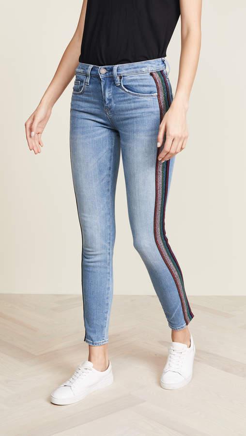 Rainbow Stripe Retrograde Jeans