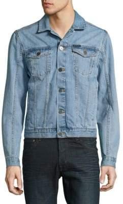 Calvin Klein Jeans Two-Pocket Button-Front Denim Jacket