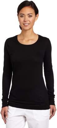 Carhartt Women's Scrubs Long Sleeve Burnout Jersey Tee