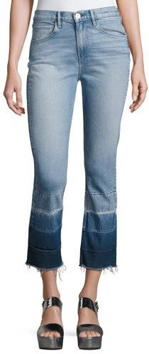 3x1 3x1 W4 Shelter Super High-Rise Straight-Leg Jeans, Spectrum