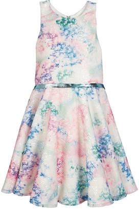 Zoe Mesh Sequin Party Dress Size 7-16