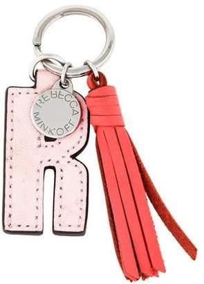 Rebecca Minkoff Logo Tassel Keychain