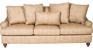 English Country-Style Sofa Brown English Country-Style Sofa
