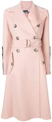 Sportmax Code double breasted belted coat