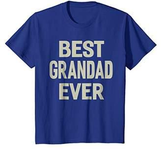 Best Grandad Ever Grandpa Gift Men T-shirt