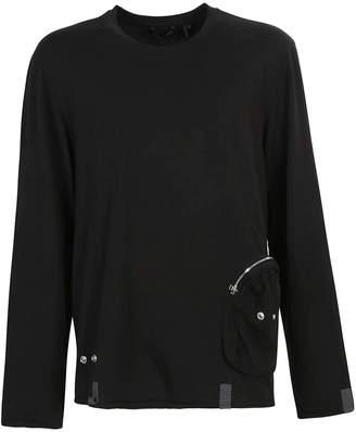 Helmut Lang Side Zipped Pocket Sweatshirt