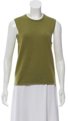 Hermes Sleeveless Cashmere Top