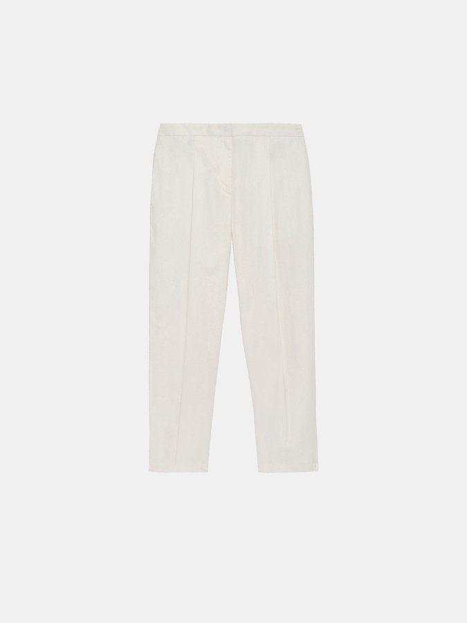DKNY Pleated Cropped Pant