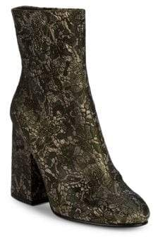 Ash Fedora Lace Brocade Ankle Boots