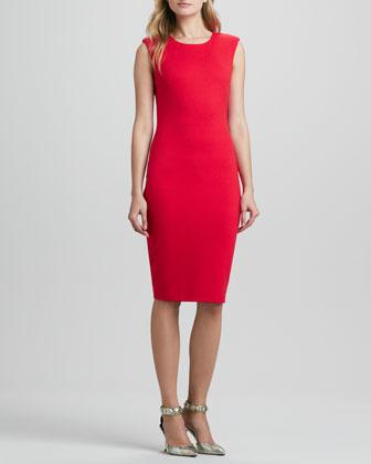Bailey 44 Dark Net Fitted Dress
