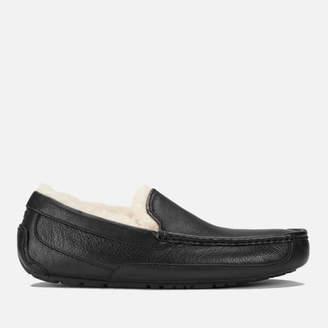 UGG Men's Ascot Grain Leather Slippers