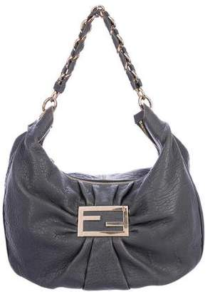 Fendi Leather Mia Hobo