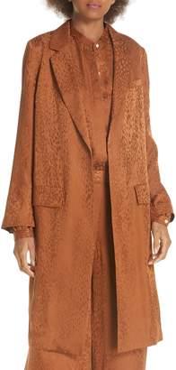 A.L.C. Charleston Silk Jacquard Jacket