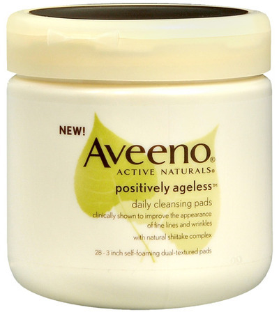 Aveeno positively ageless Daily Cleansing Pads