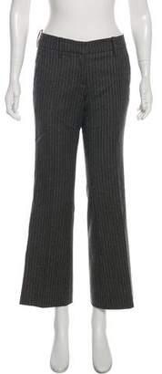 HUGO BOSS Boss by Virgin Wool Mid-Rise Pants
