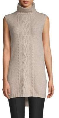 Saks Fifth Avenue Turtleneck Wool Blend Sweater