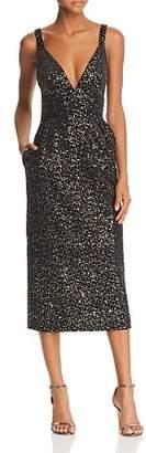 Jill Stuart Sequined Velvet Dress