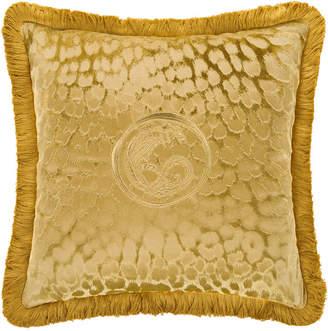 Roberto Cavalli Sigillo Cushion - 40x40cm - Gold