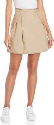 Paul & Joe Sister Lagune Gabardine Pleated Skirt