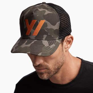 James Perse Y/OSEMITE CAMO TRUCKER HAT