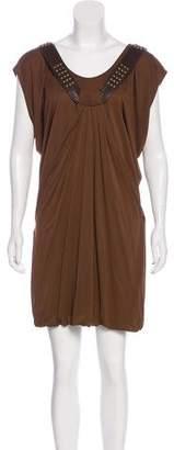 Yigal Azrouel Draped Sleeveless Dress