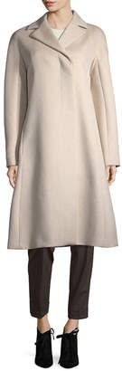 Narciso Rodriguez Long Wool & Cashmere Coat