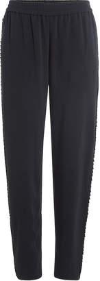 Jonathan Simkhai Crepe Pants with Side Trim