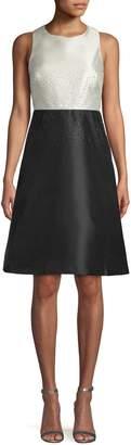 Calvin Klein Embellished A-Line Dress