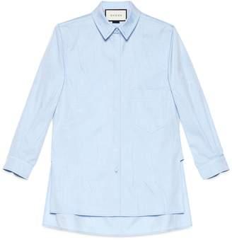 Gucci Washed oxford shirt