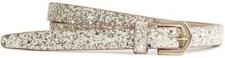 Reiss Rose Shimmer Shimmer Skinny Belt