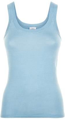 La Perla New Silk Soul Bi-Stretch Silk Knit Tank Top