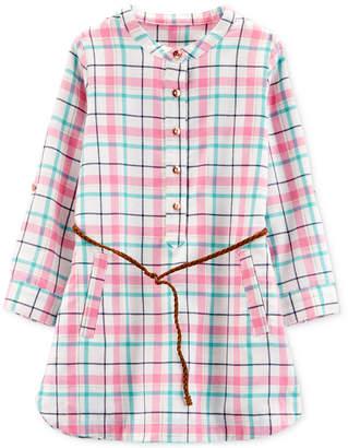 Carter's Toddler Girls Plaid Dress