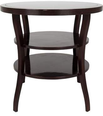 Barbara Barry Baker Fluted Tiered End Table