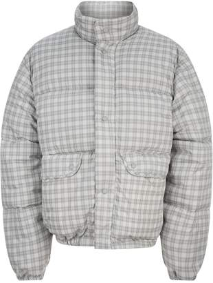 Our Legacy Oversized Lenox Check Puffer Jacket