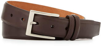 W.KLEINBERG W. Kleinberg Basic Leather Belt with Interchangeable Buckles