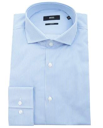 Boss Black Tailoring Jason Slim Fit Bengal Striped Shirt
