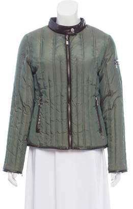 MICHAEL Michael Kors Long Sleeve Zip-Up Jacket