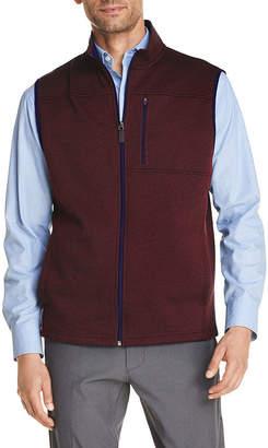 Izod Premium Essentials Mens Mock Neck Sweater Vest