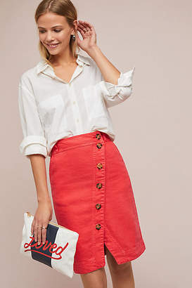 Maeve Buttondown Pencil Skirt