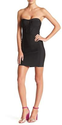Wow Couture Strapless Sweetheart Bodycon Dress